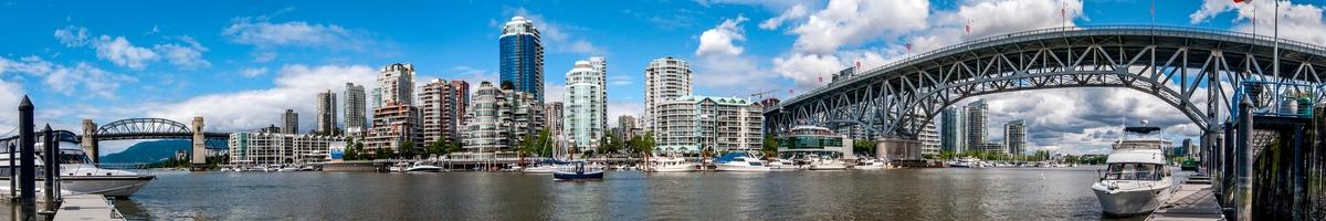 Granville Island ist kleine Halbinsel und gleichzeitig ein angesagtes Kultur- und Shoppingviertel in Vancouver.