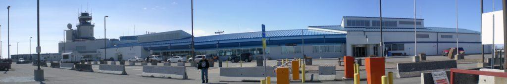 Der Yellowknife Airport bildet das Tor zu den Northwest Territories.