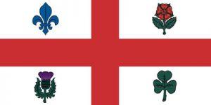 Die Flagge von Montreal wurde erstmals im Mai 1939 gehisst.